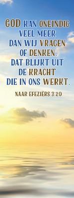 God kan oneindig veel meer