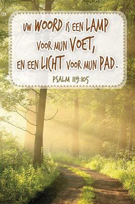 Uw woord is een lamp