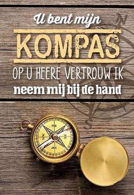 U bent mijn Kompas
