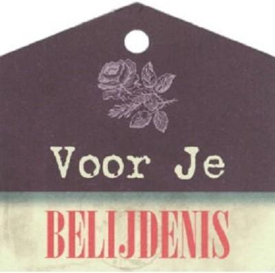 Labeltje Voor je Belijdenis