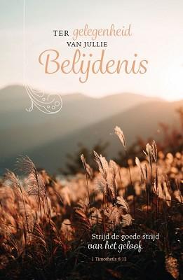 Wenskaart Gelegenheid Jullie Belijdenis