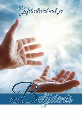 Wenskaart Gefeliciteerd je Belijdenis