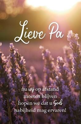 Wenskaart Lieve Pa
