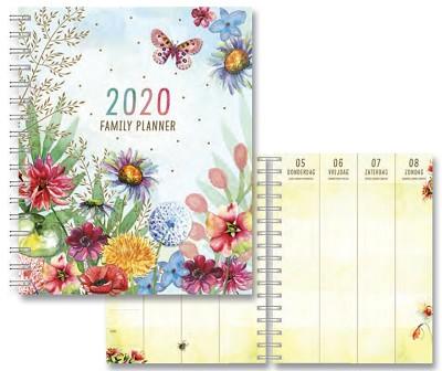 Les Fleurs Familyplanner Wired