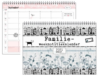 Familieweeknotitiekalender Studio