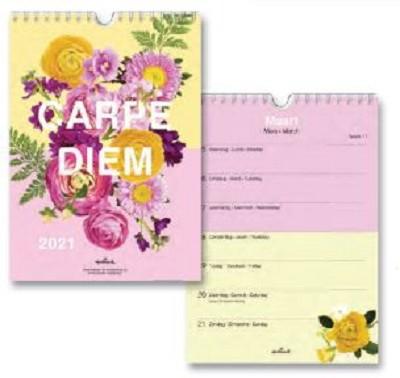Weekkalender Flora