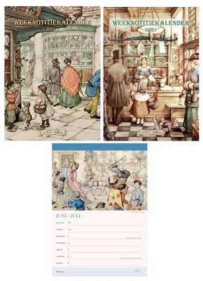 Weeknotitiekalender Anton Pieck
