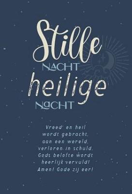 Minikaart Stille Nacht