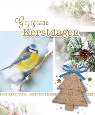 Hangdoosje Gezegende Kerstdagen