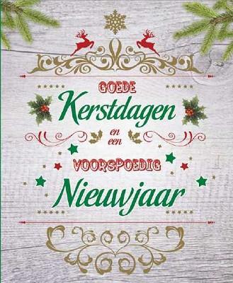 Hangdoosje Goede Kerstdagen